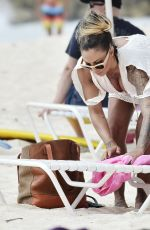 JODIE MARSH in Bikini in Barbados 0101