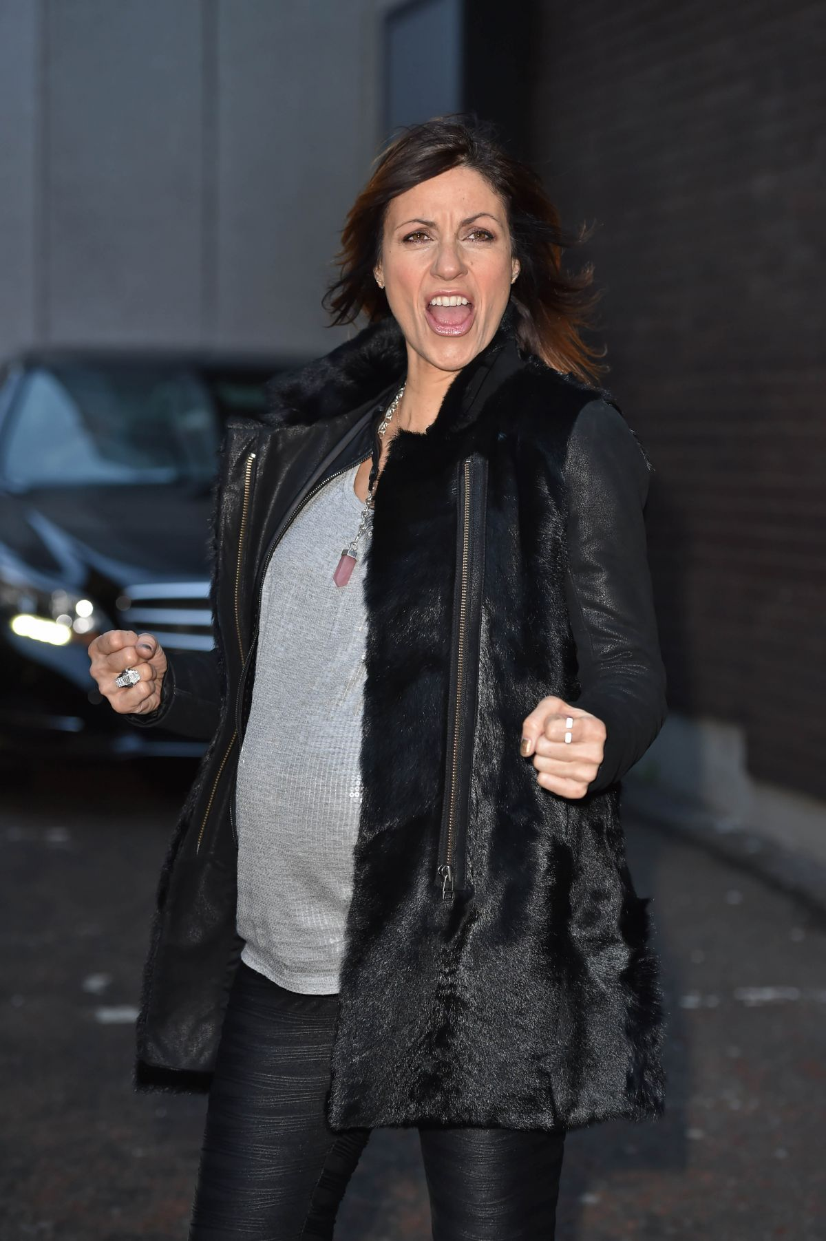 JULIA BRADBURY at ITV Studios in London