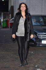 JULIA BRADBURY at ITV Studios in London