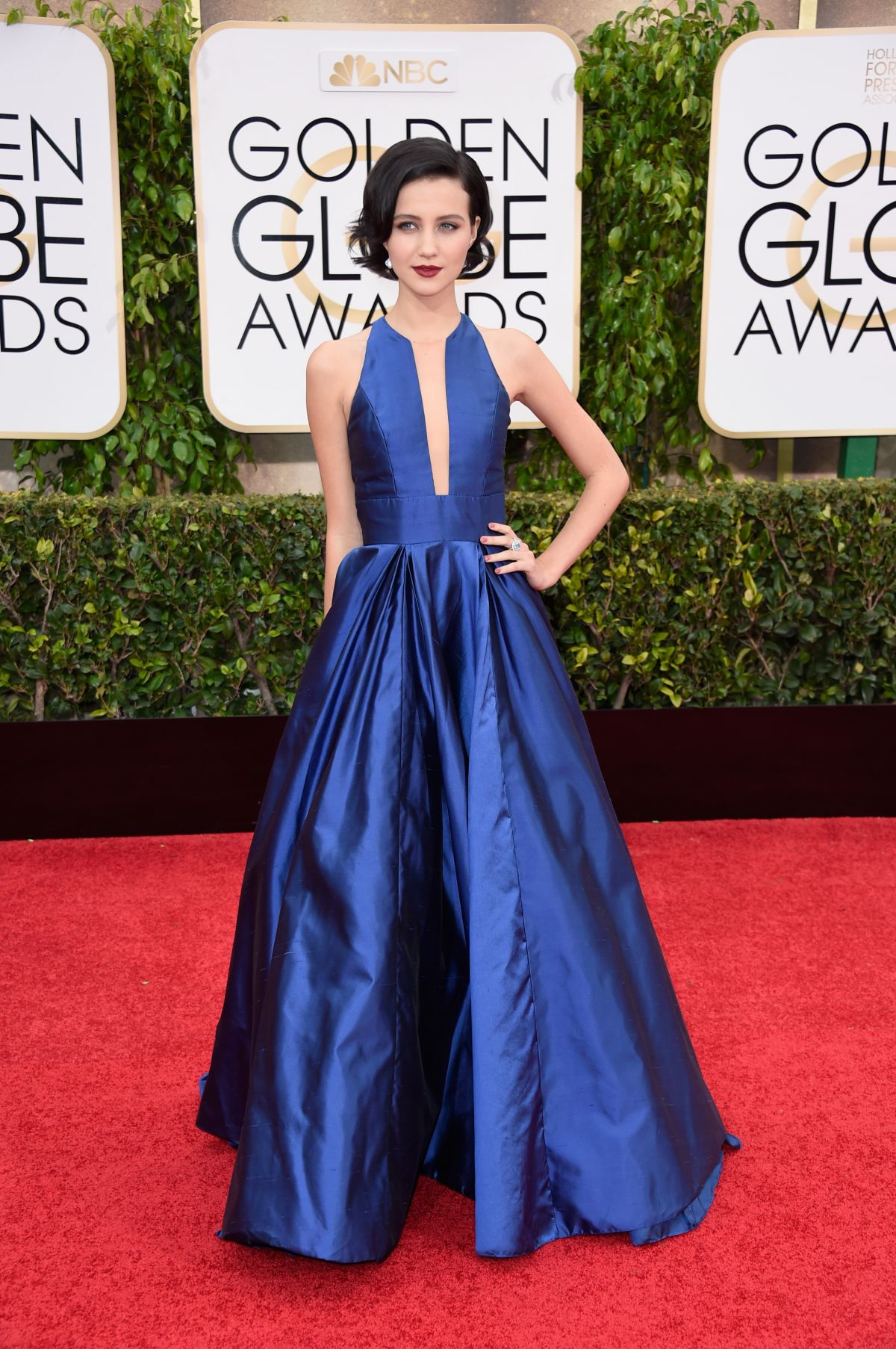 JULIA GOLDANI TELLES at 2015 Golden Globe Awards in Beverly Hills