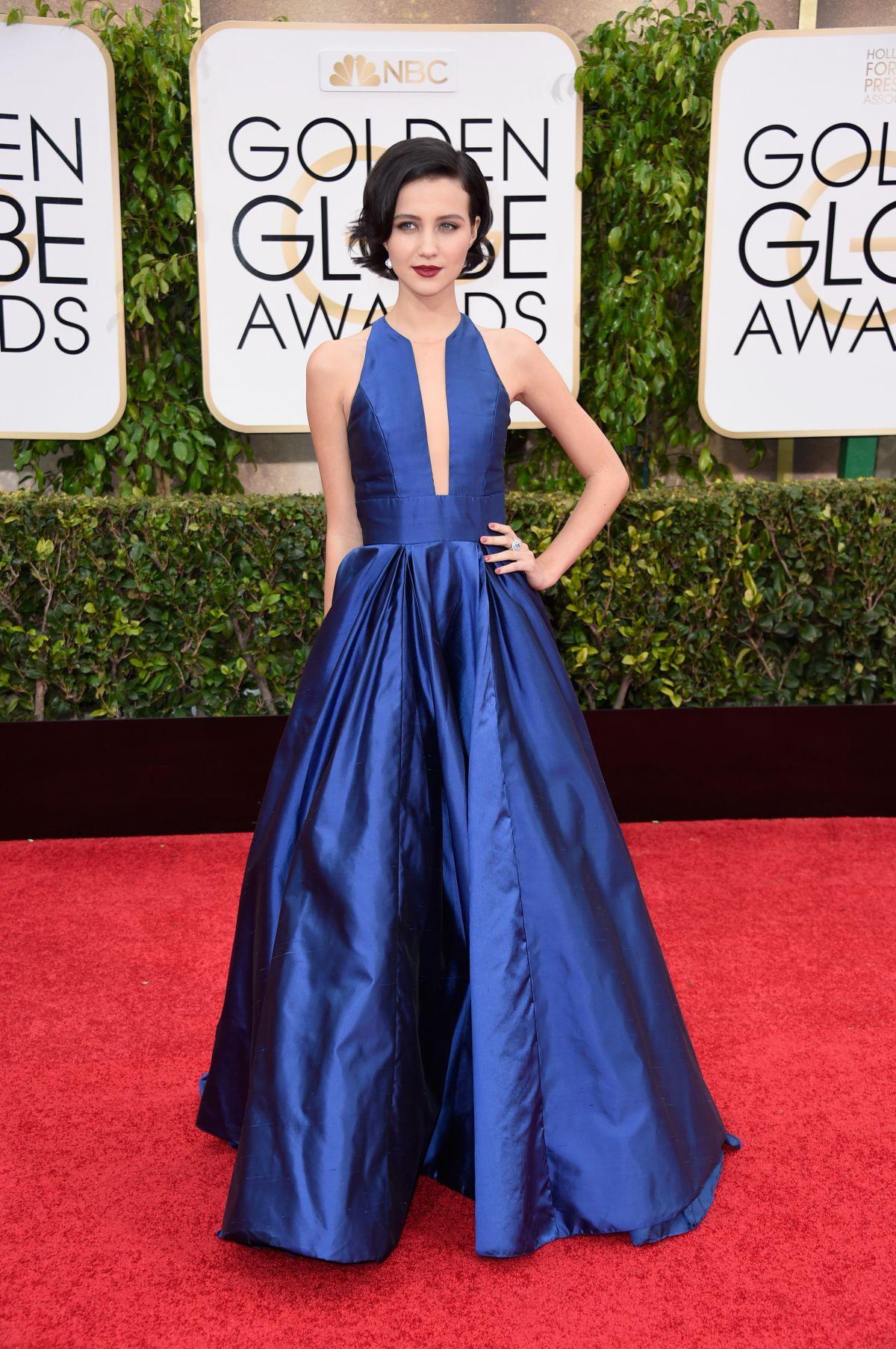 JULIA GOLDANI TELLES at 2015 Golden Globe Awards in Beverly Hills