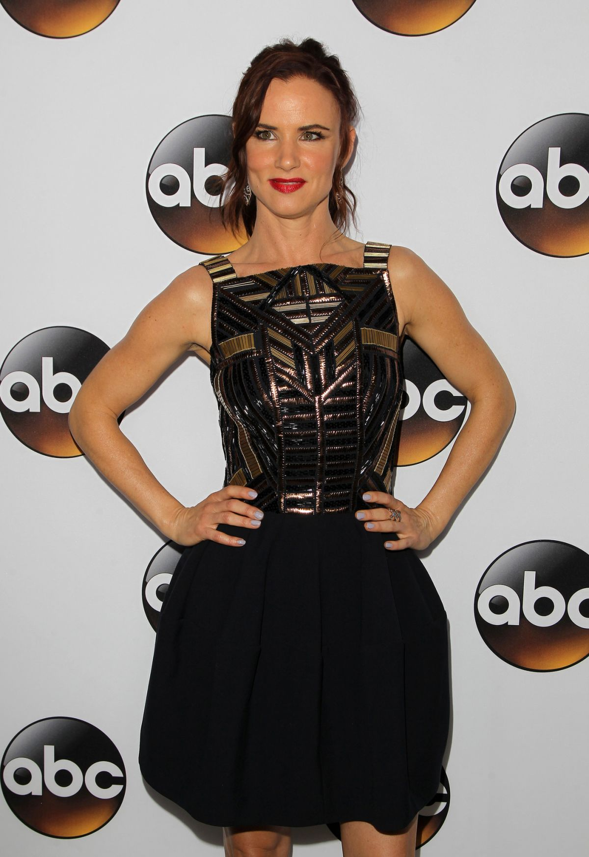 JULIETTE LEWIS at Disney and ABC Television Group TCA Winter Press Tour in Pasadena