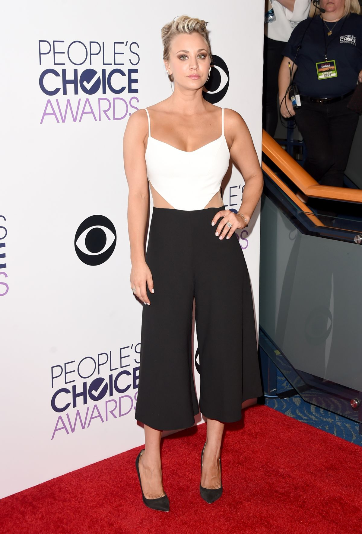 2015 S Most Popular Halloween Costumes By State Map: KALEY CUOCO At 2015 People's Choice Awards In Los Angeles