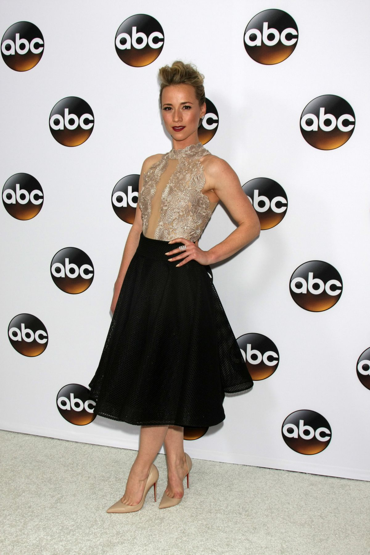 KARINE VANASSE at Disney and ABC Television Group TCA Winter Press Tour in Pasadena
