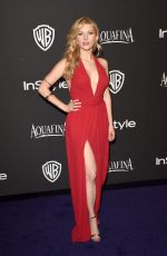 KATHERYN WINNICK at Instyle and Warner Bros Golden Globes Party in Beverly Hills