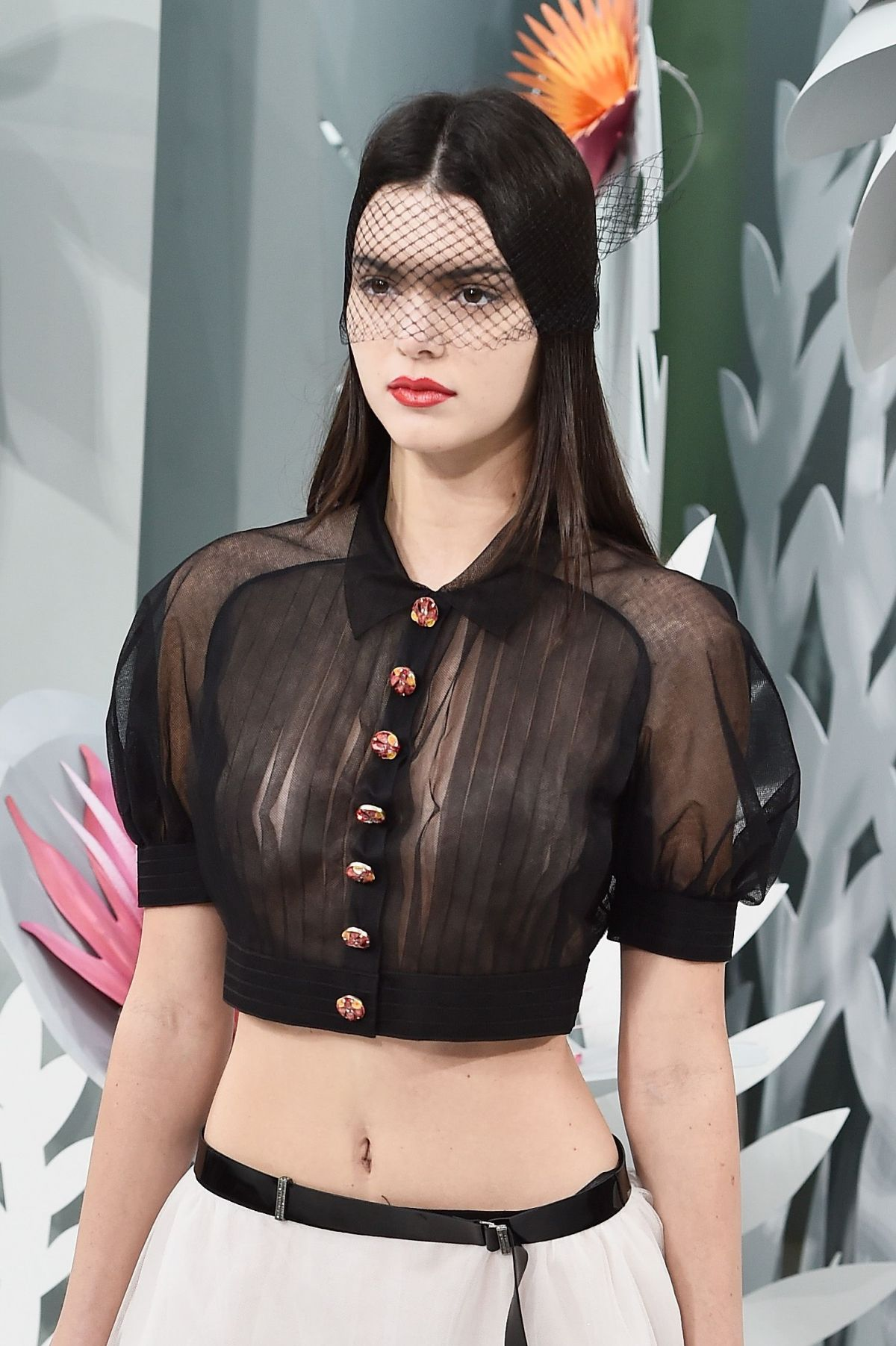 Kendall Jenner Chanel Fashion Show 2015 KENDALL JENNER on the Runway