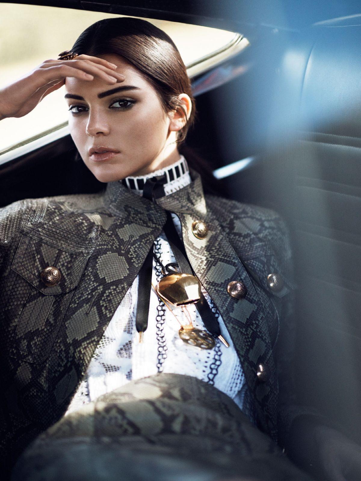 Kendall Jenner Vogue Magazine Photoshoot Hawtcelebs
