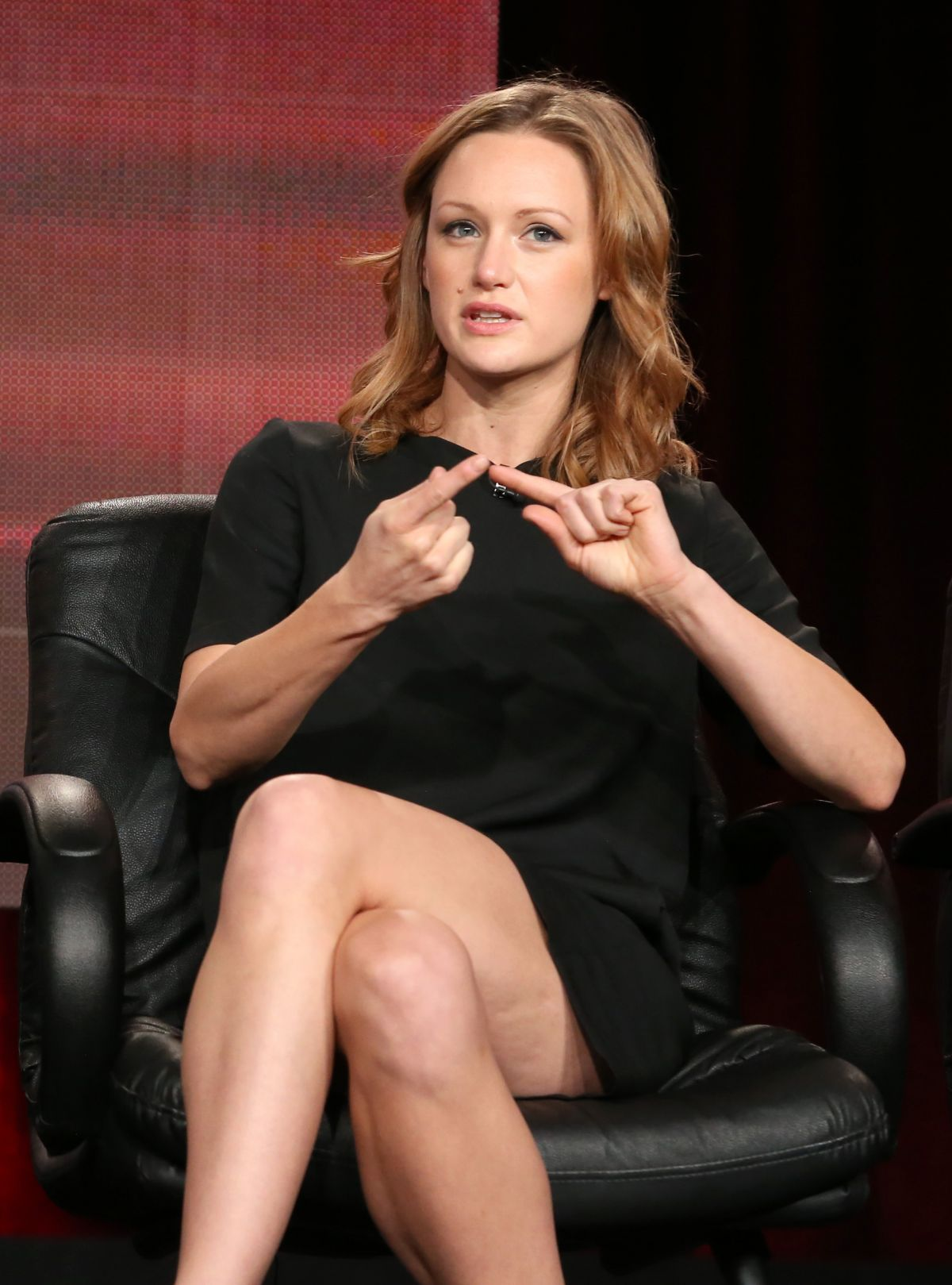 KERRY BISHE at Halt and Catch Fire Panel TCA Press Tour in Pasadena