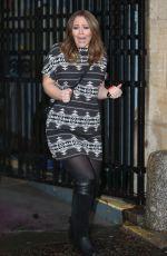 KIMBERLEY WALSH Leaves ITV Studios in London 0601