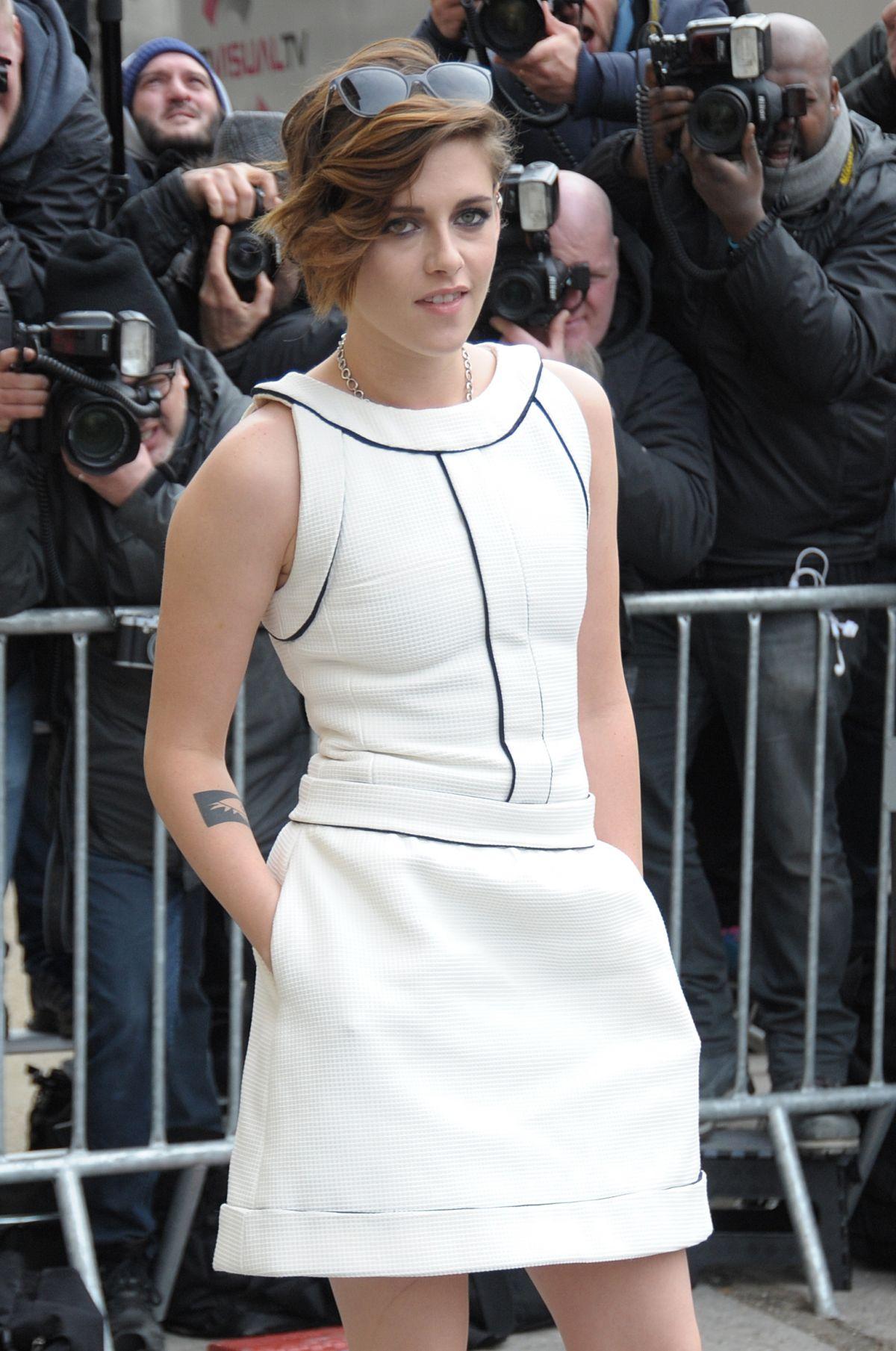 KRISTEN STEWART at Chanel Fashion Show in Paris