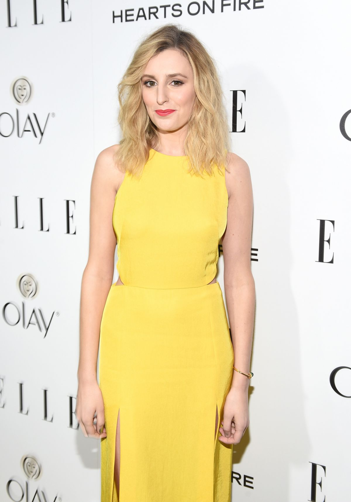 LAURA CARMICHAEL at 2015 Elle Women in Television Celebration in West Hollywood