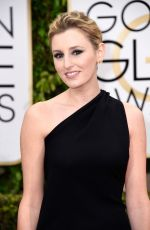 LAURA CARMICHAEL at 2015 Golden Globe Awards in Beverly Hills