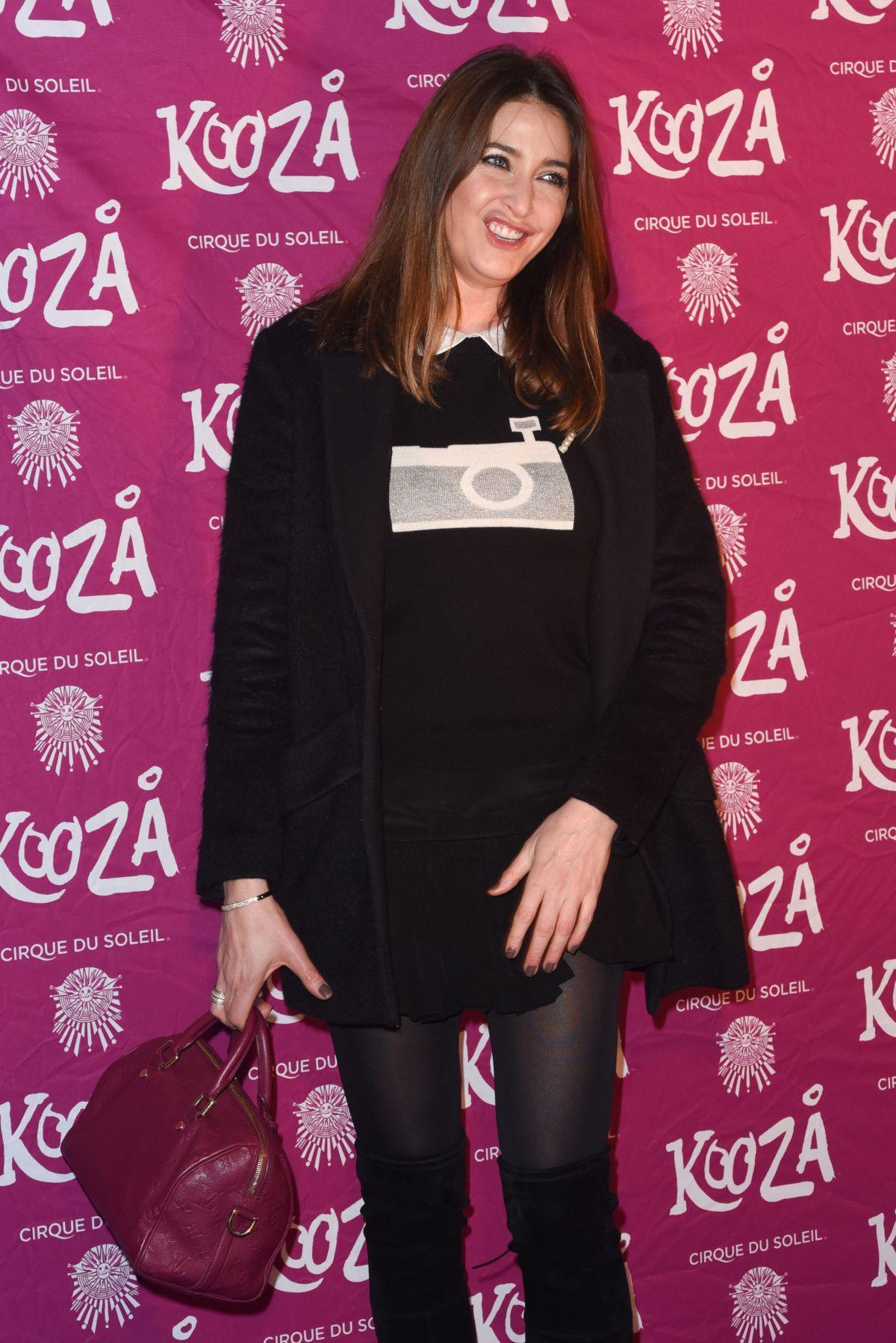 LISA SNOWDON at Kooza by Cirque du Soleil VIP Performance in London