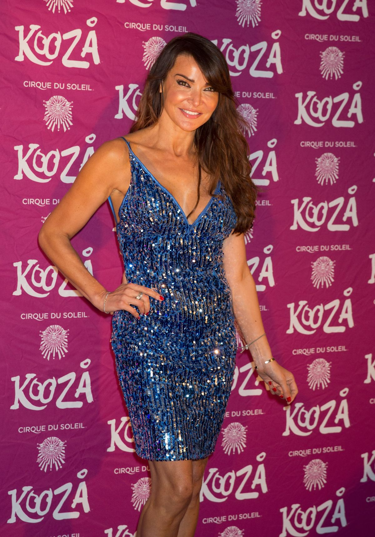 LIZZIE CUNDY at Kooza by Cirque du Soleil VIP Performance in London