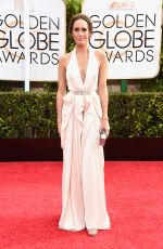 LOUISE ROE at 2015 Golden Globe Awards in Beverly Hills