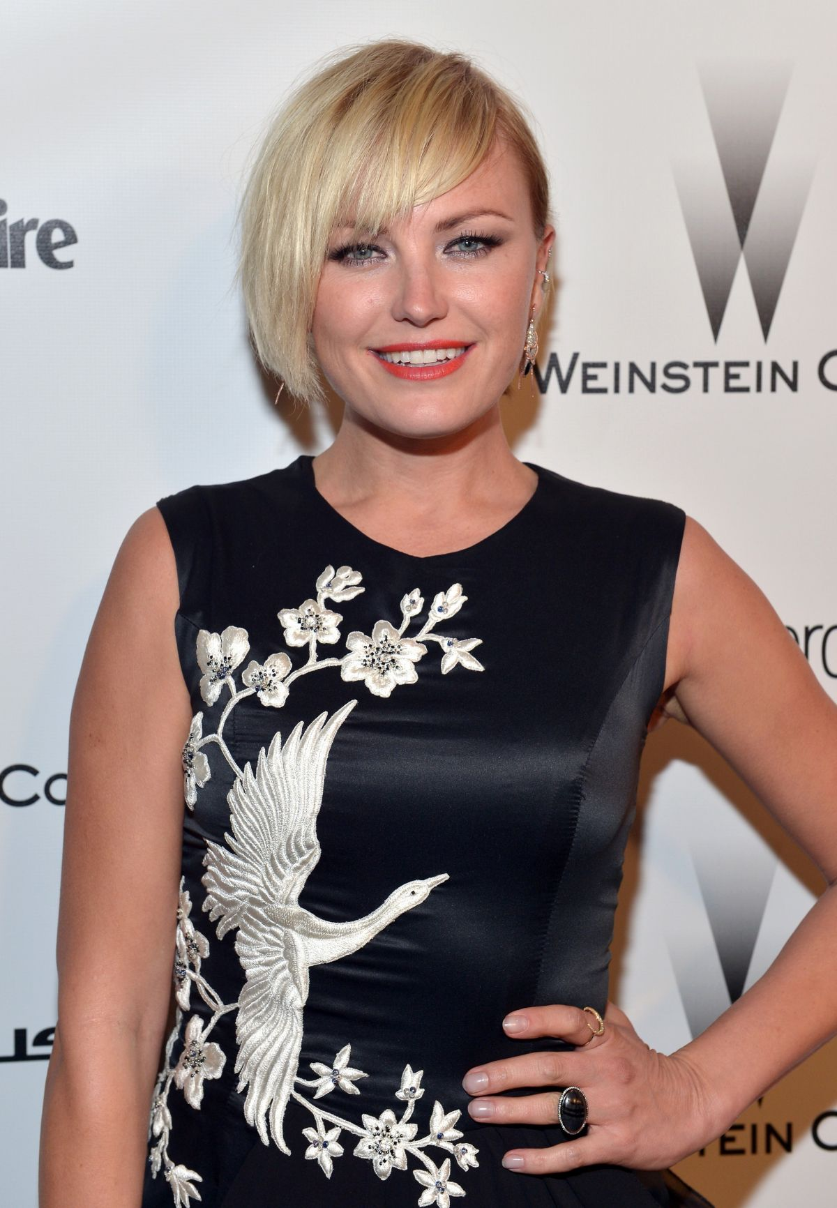 MALIN AKERMAN at The Weinstein Company and Netflix Golden Globes Party ... Malin Akerman