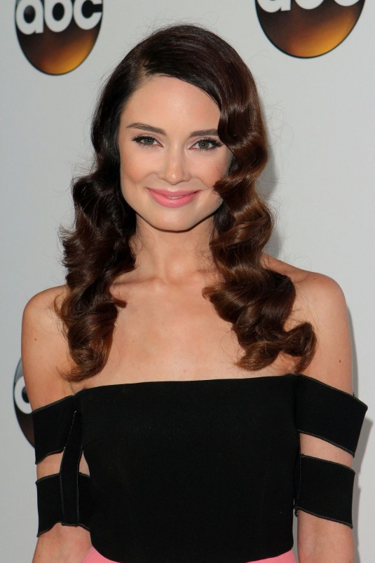 MALLORY JANSEN at ABC TCA Press Tour