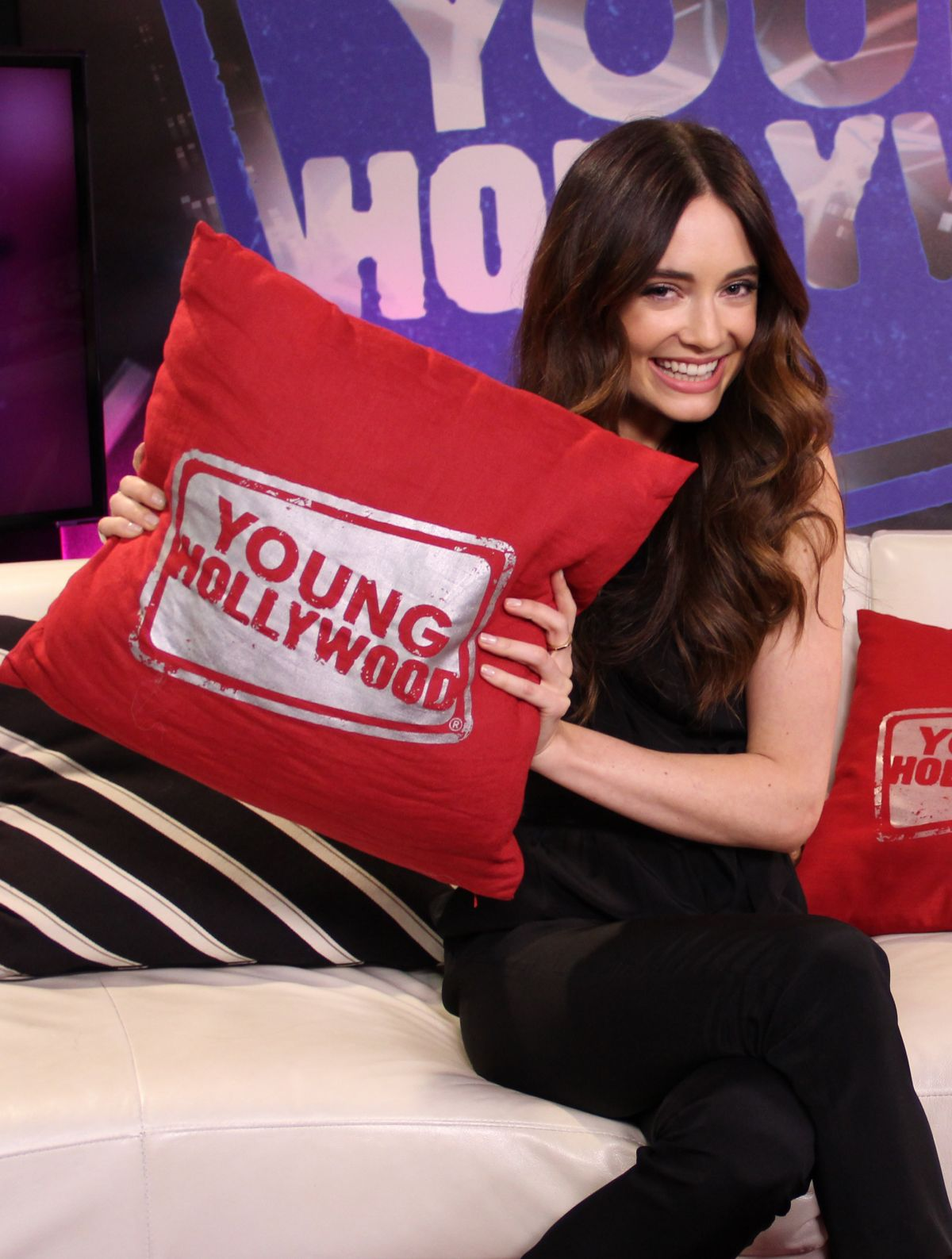 MALLORY JANSEN at Young Hollywood Studio in Los Angeles