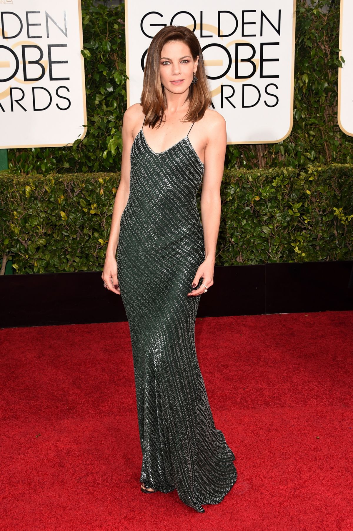 MICHELLE MONAGHAN at 2015 Golden Globe Awards in Beverly Hills
