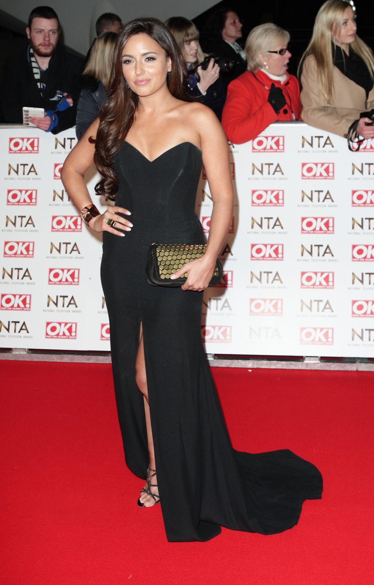 NADIA FORDE at 2015 National Television Awards in London