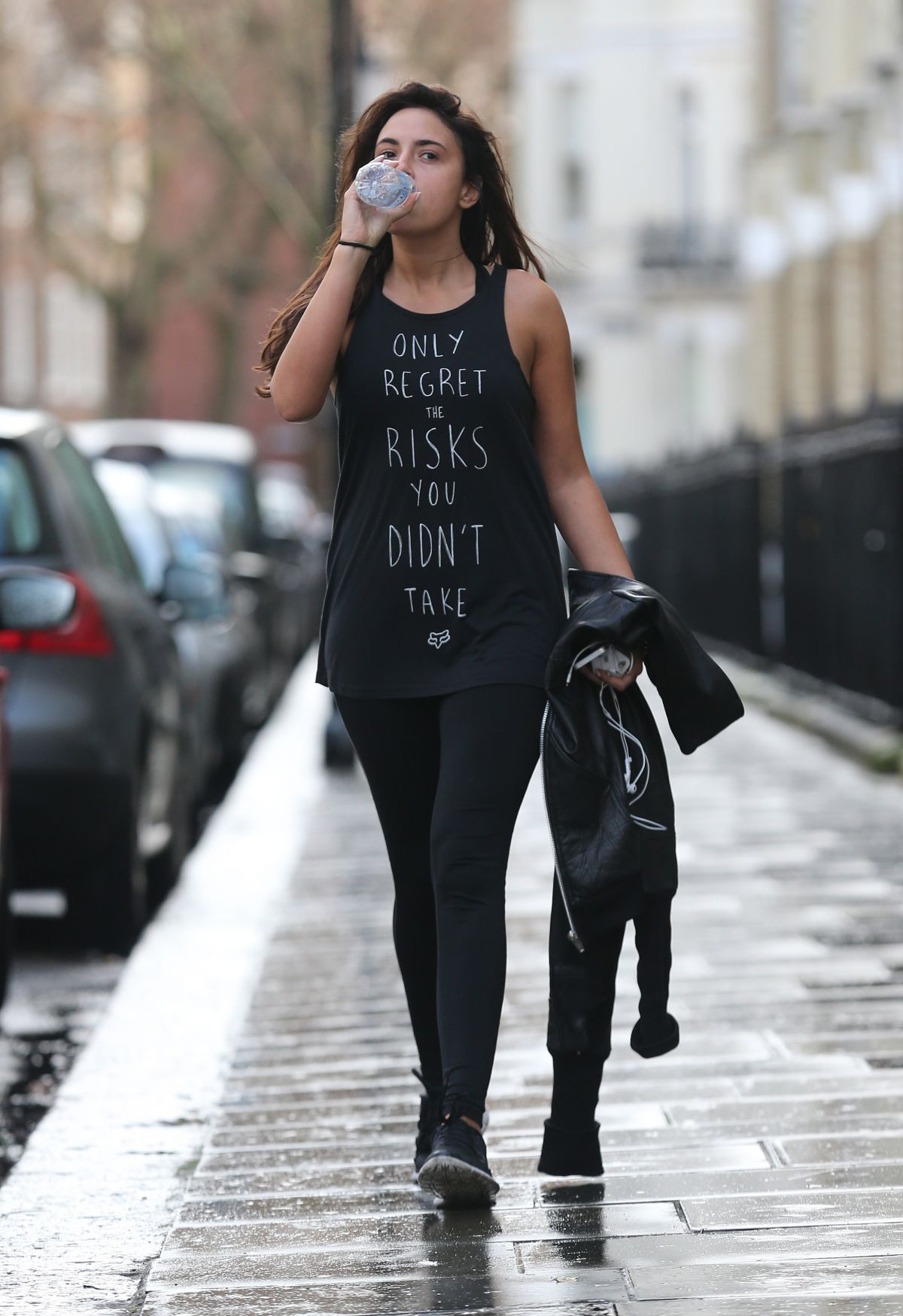 Nadia Forde Leaves A Gym In London Hawtcelebs