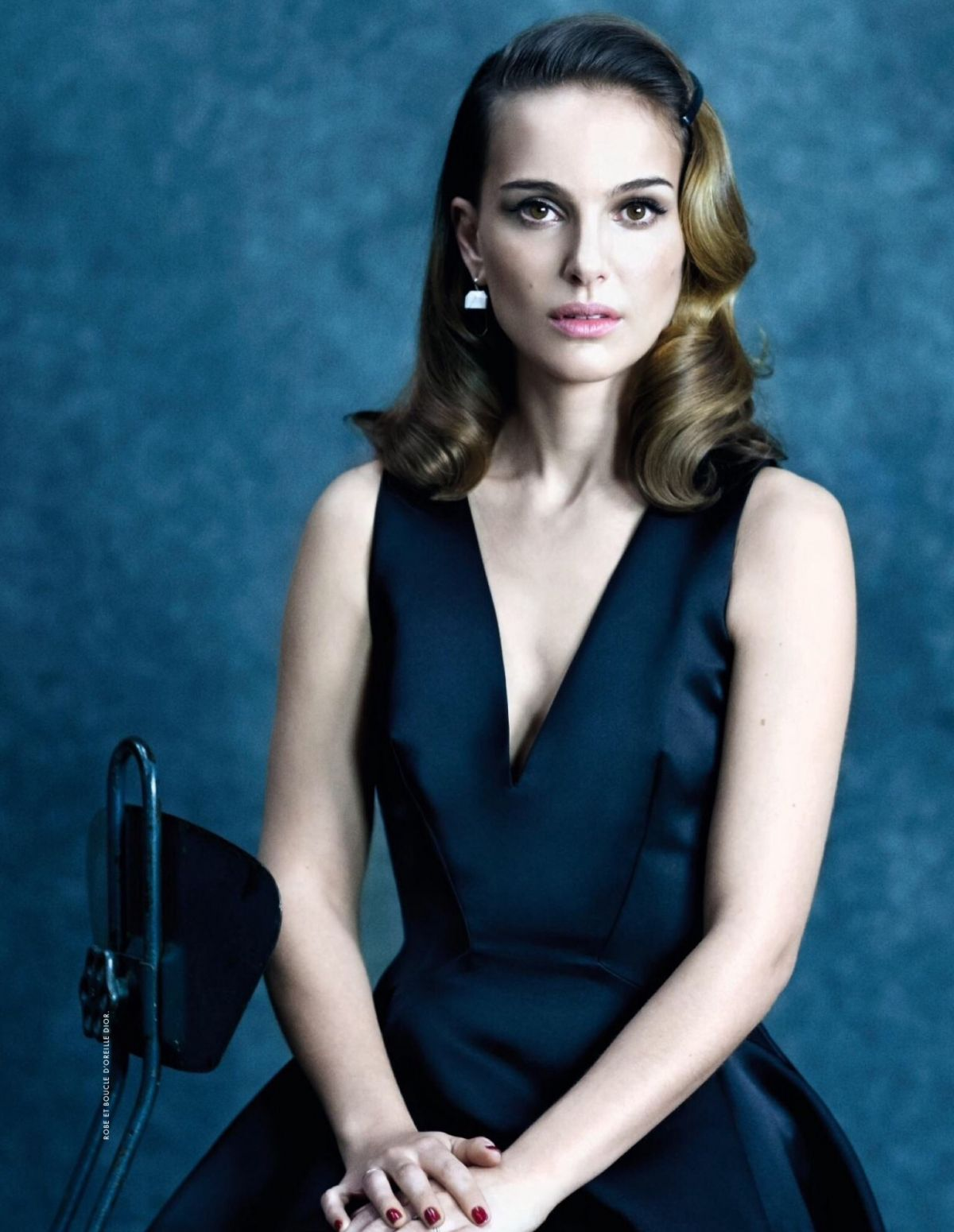NATALIE PORTMAN in Elle Magazine, February/March 2015 Issue ... Natalie Portman
