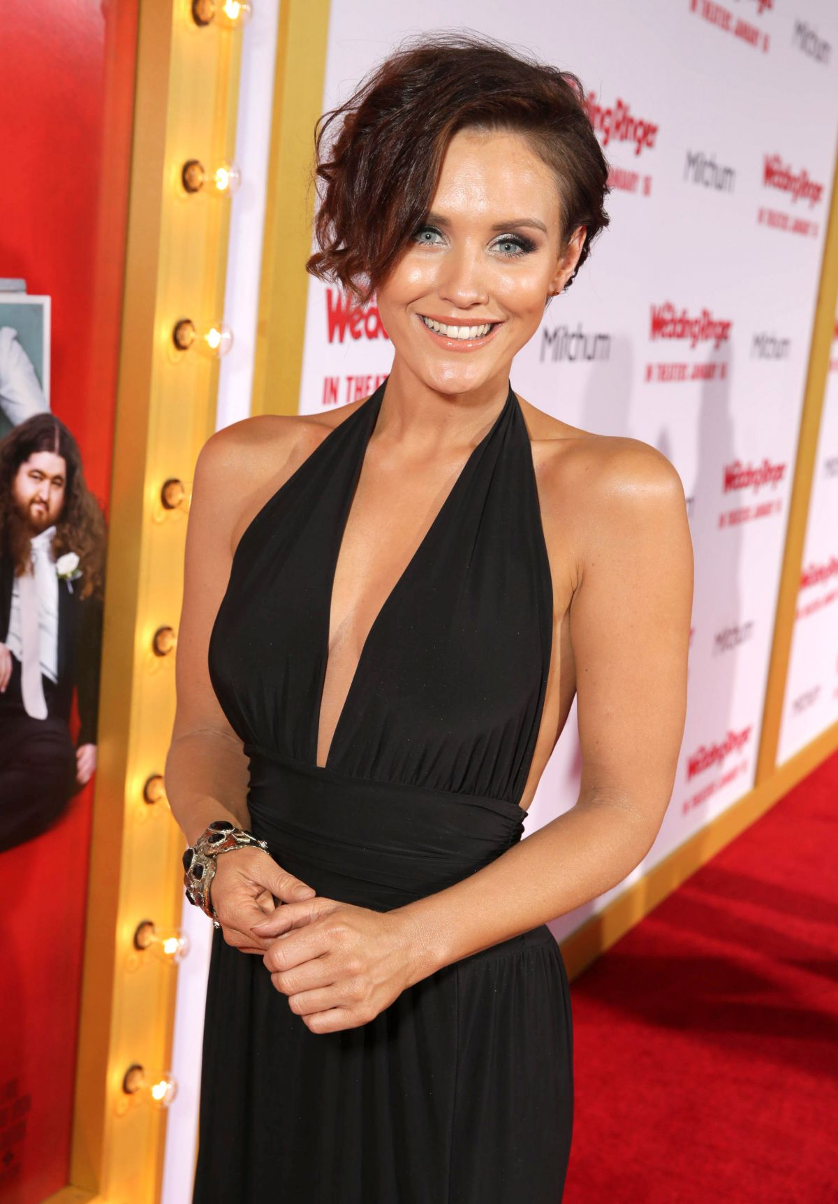 Nicky Whelan At The Wedding Ringer Premiere In Los Angeles