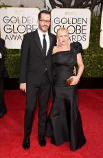 PATRICIA ARQUETTE at 2015 Golden Globe Awards in Beverly Hills