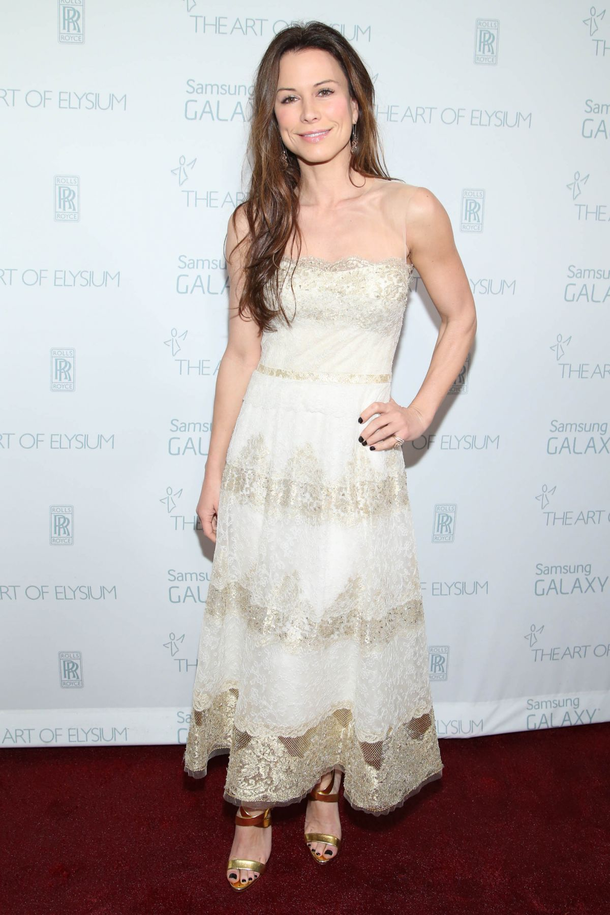 RHONA MITRA at Art of Elysium and Samsung Galaxy Present Marina Abramovic's Heaven in Los Angeles