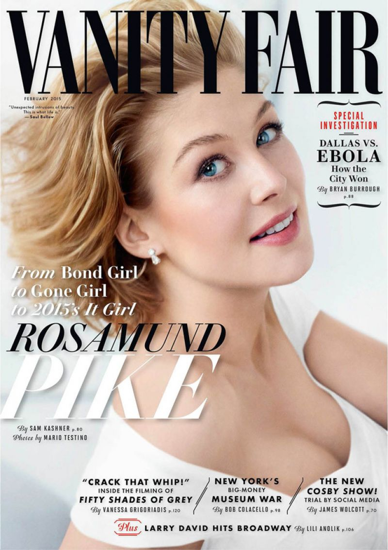 Fashion week Pike rosamund vanity fair february for lady