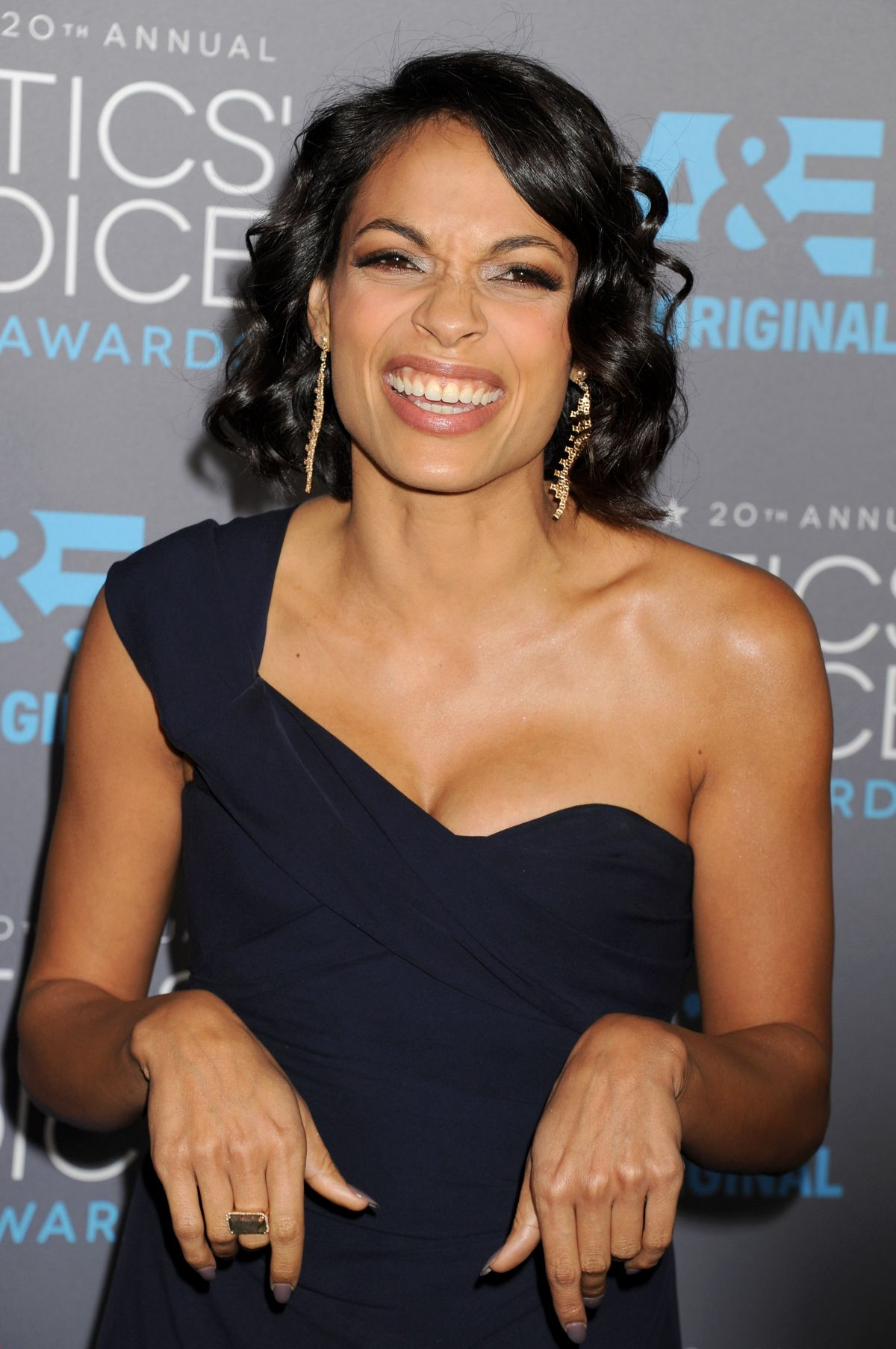 ROSARIO DAWSON at 2015 Critics Choice Movie Awards in Los Angeles ...