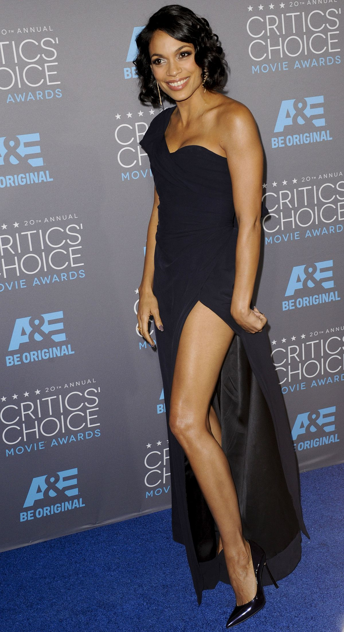 ROSARIO DAWSON At 2015 Critics Choice Movie Awards In Los Angeles HawtCelebs