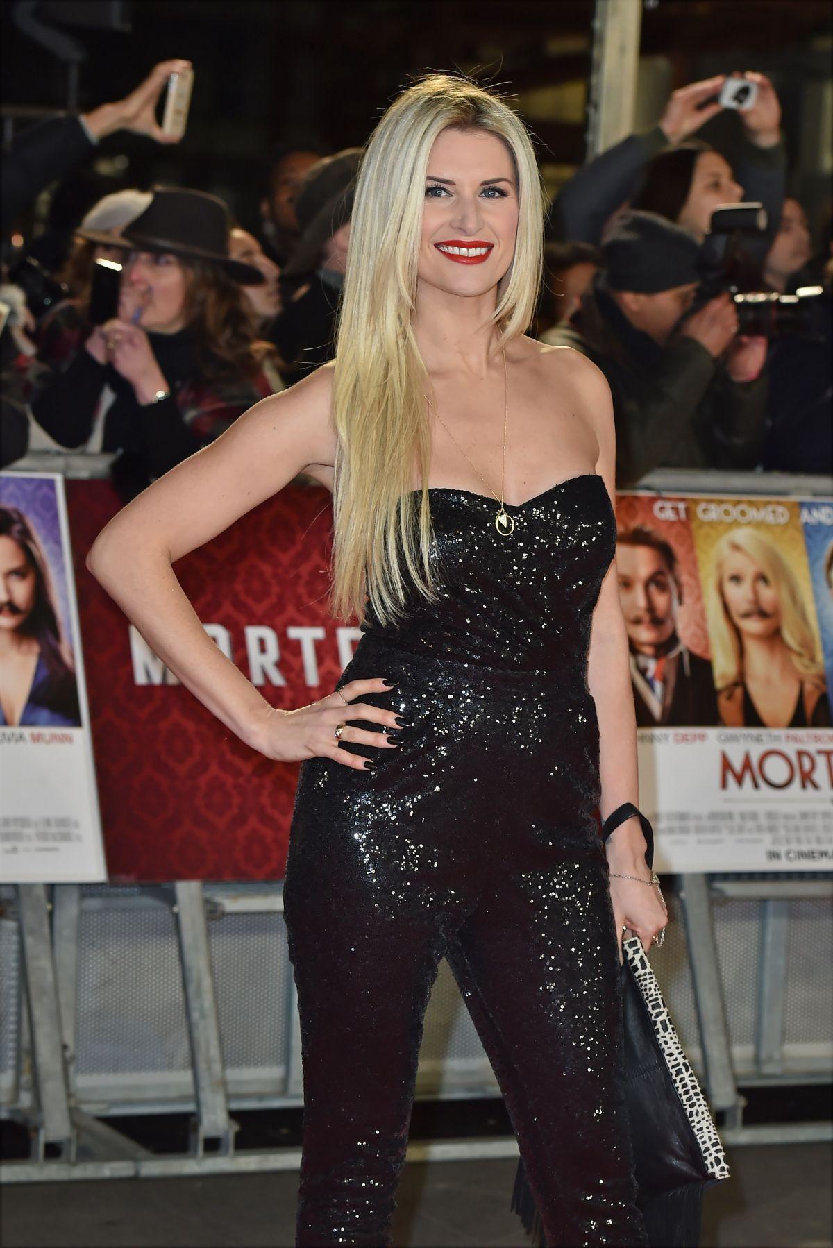 SARAH JAYNE DUNN at Mortdecai Premiere in London