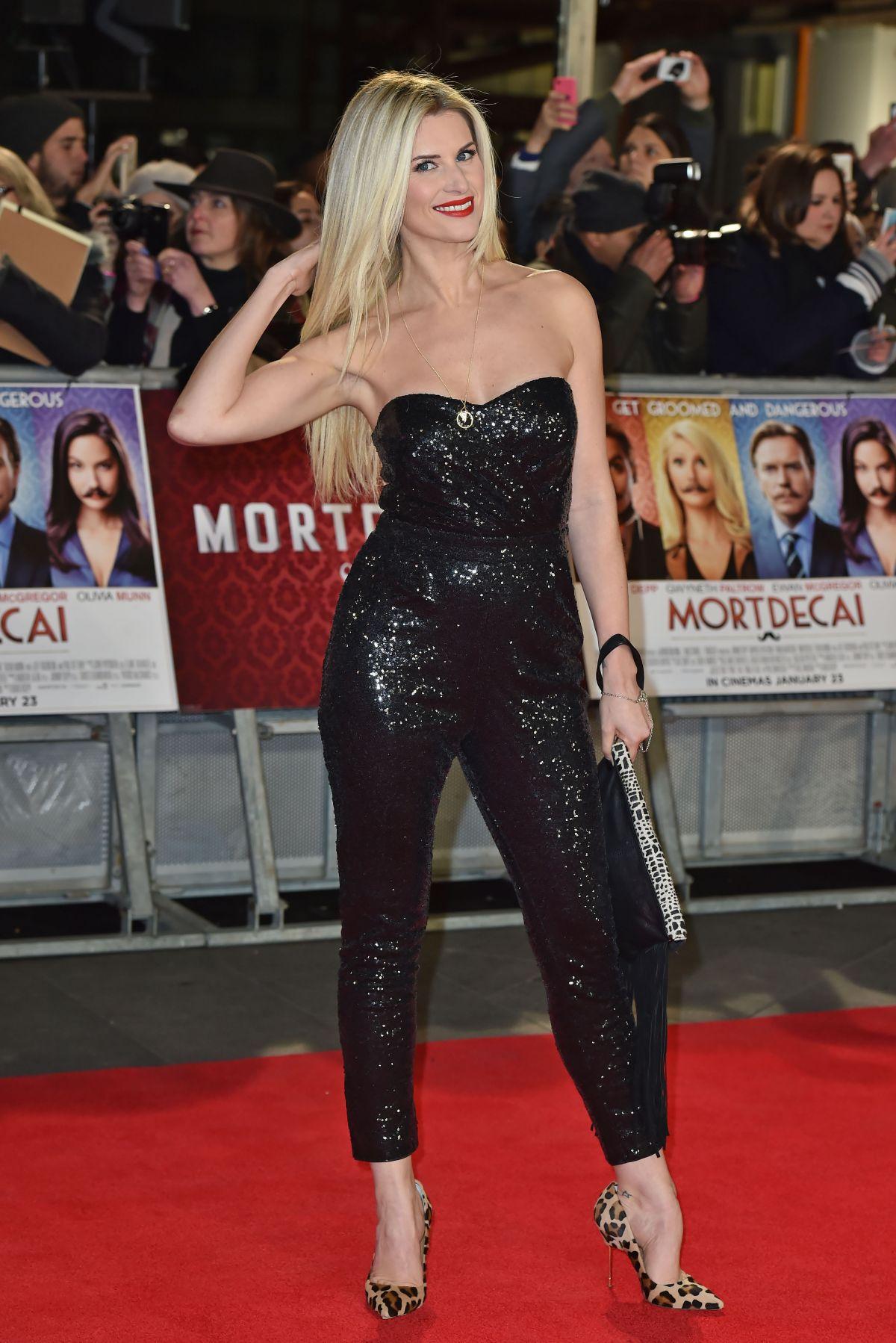 Sarah Jayne Dunn At Mortdecai Premiere In London Hawtcelebs