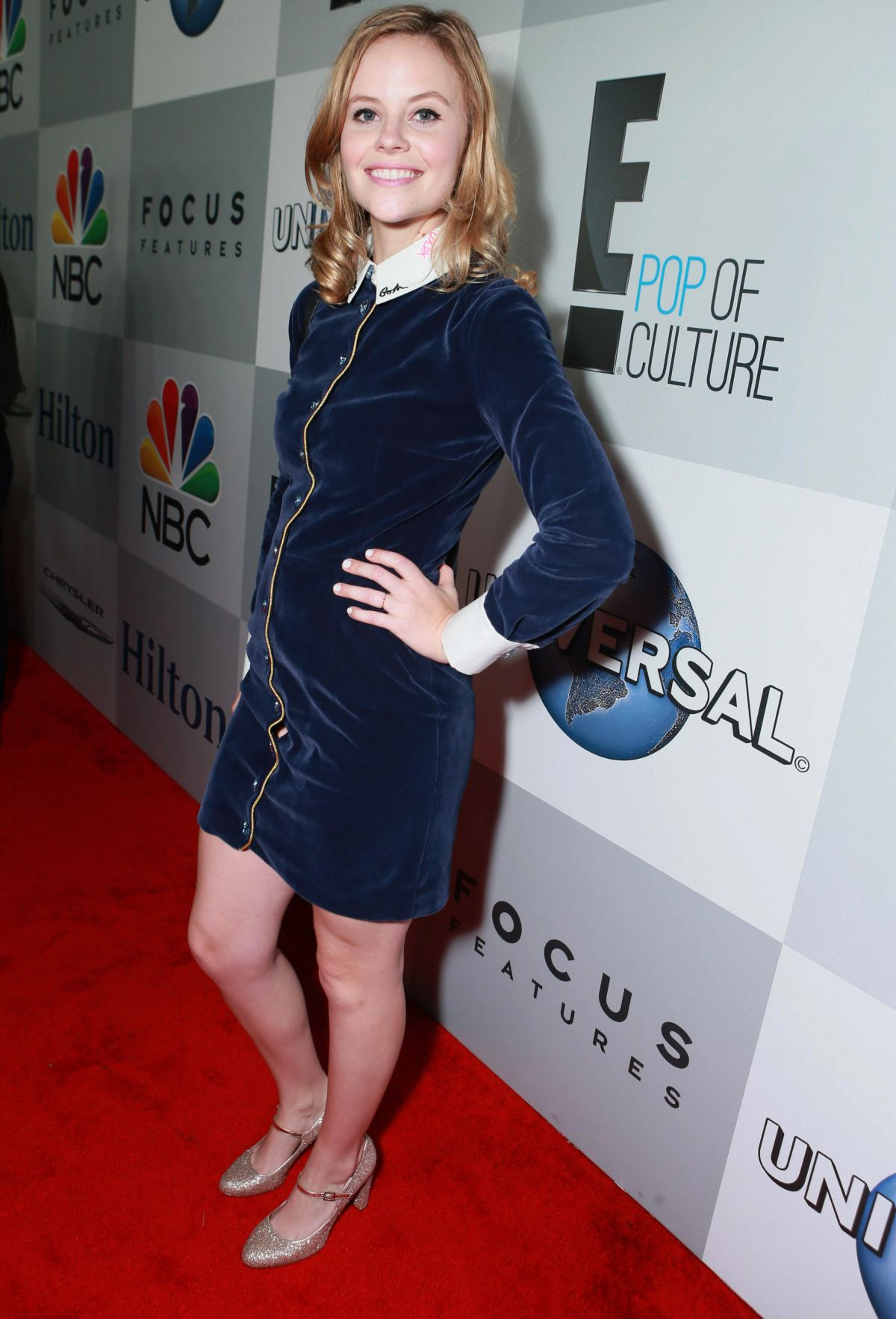 SARAH RAMOS at NBC Golden Globes Party in Beverly Hills