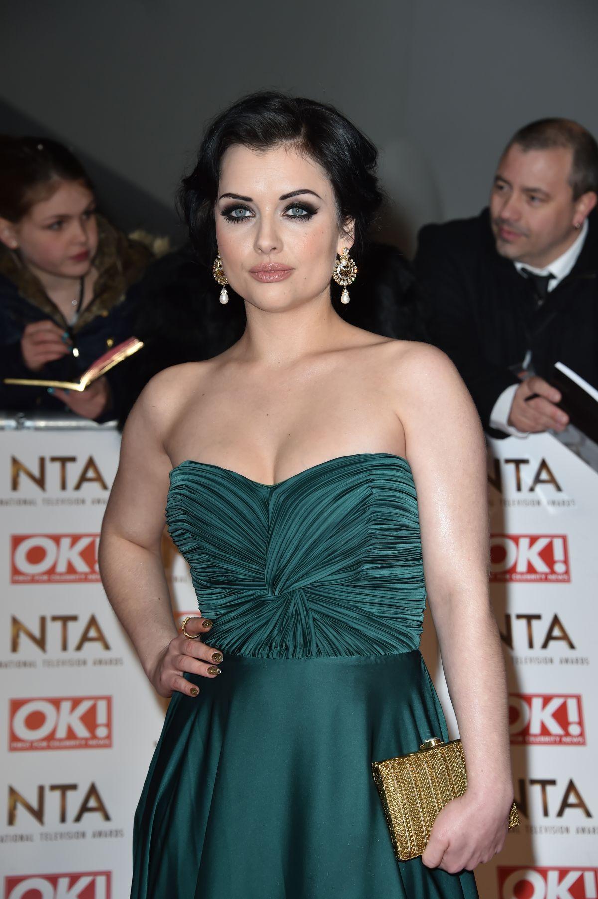 SHONA MCGARTY at 2015 National Television Awards in London