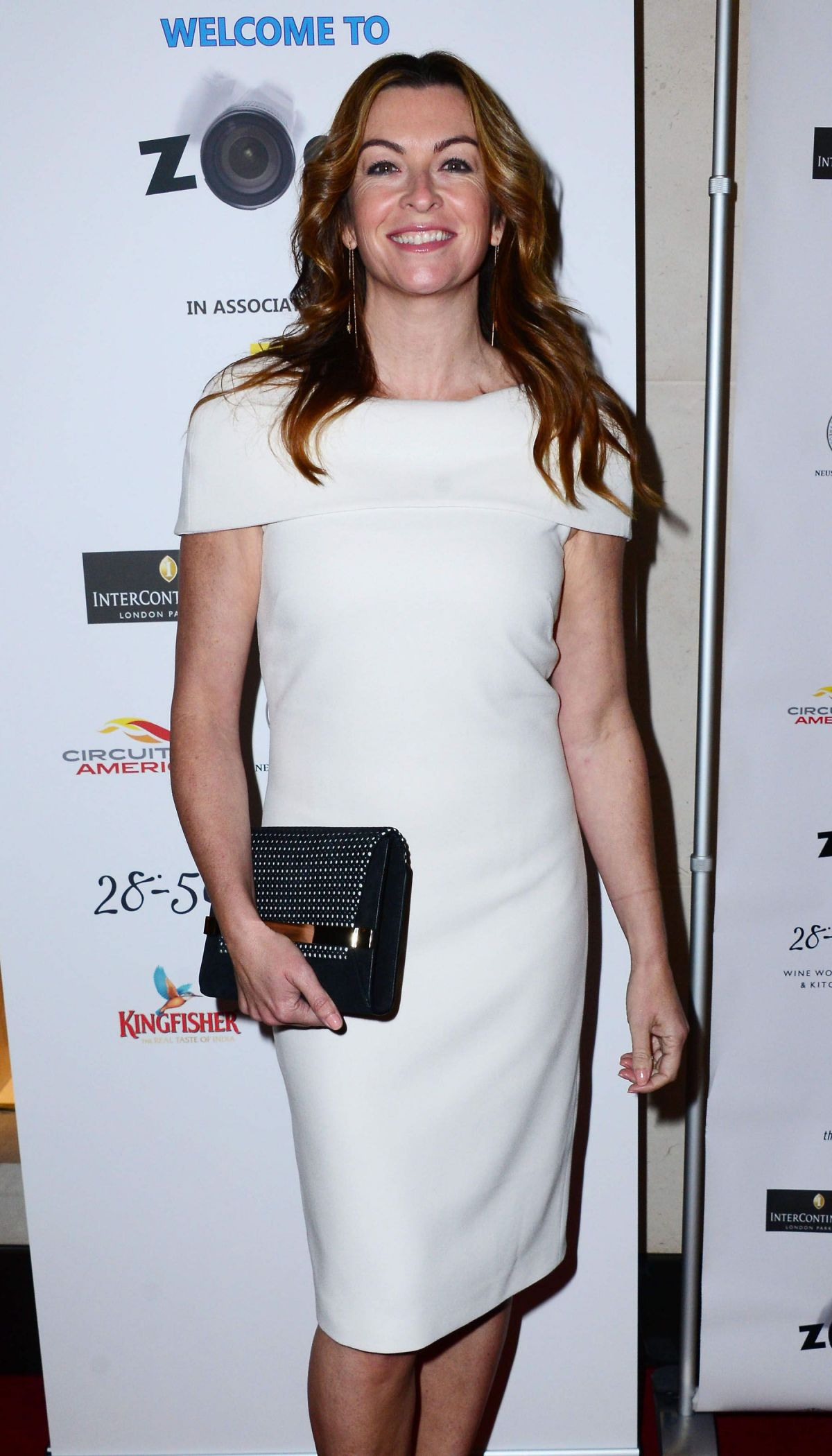 SUZI PERRY at Zoom F1 Charity Auction in London