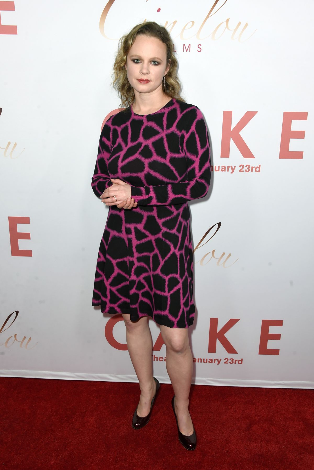 THORA BIRCH at Cake Premiere in Hollywood