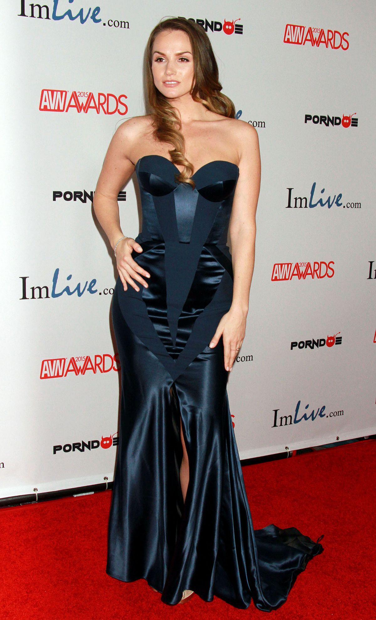 TORI BLACK at 2015 AVN Awards in Las Vegas
