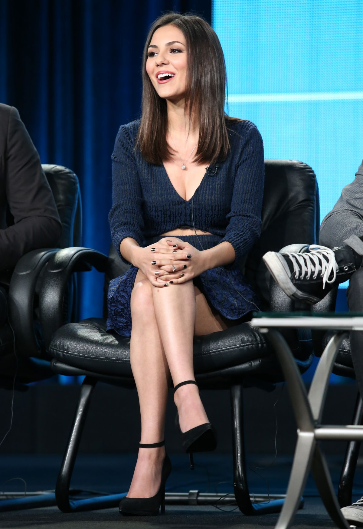 victoria justice at eye candy panel tca press tour in