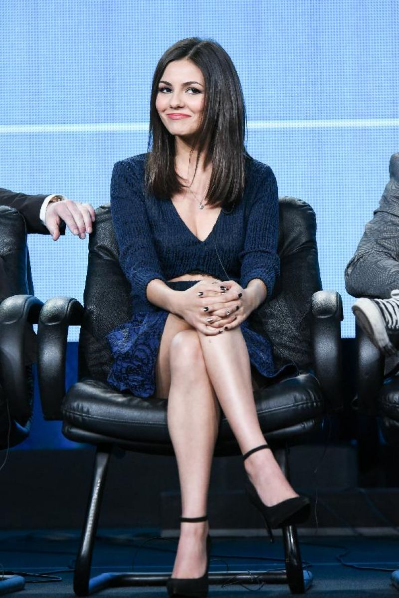 Eye Candy Nails Training: VICTORIA JUSTICE At Eye Candy Panel TCA Press Tour In