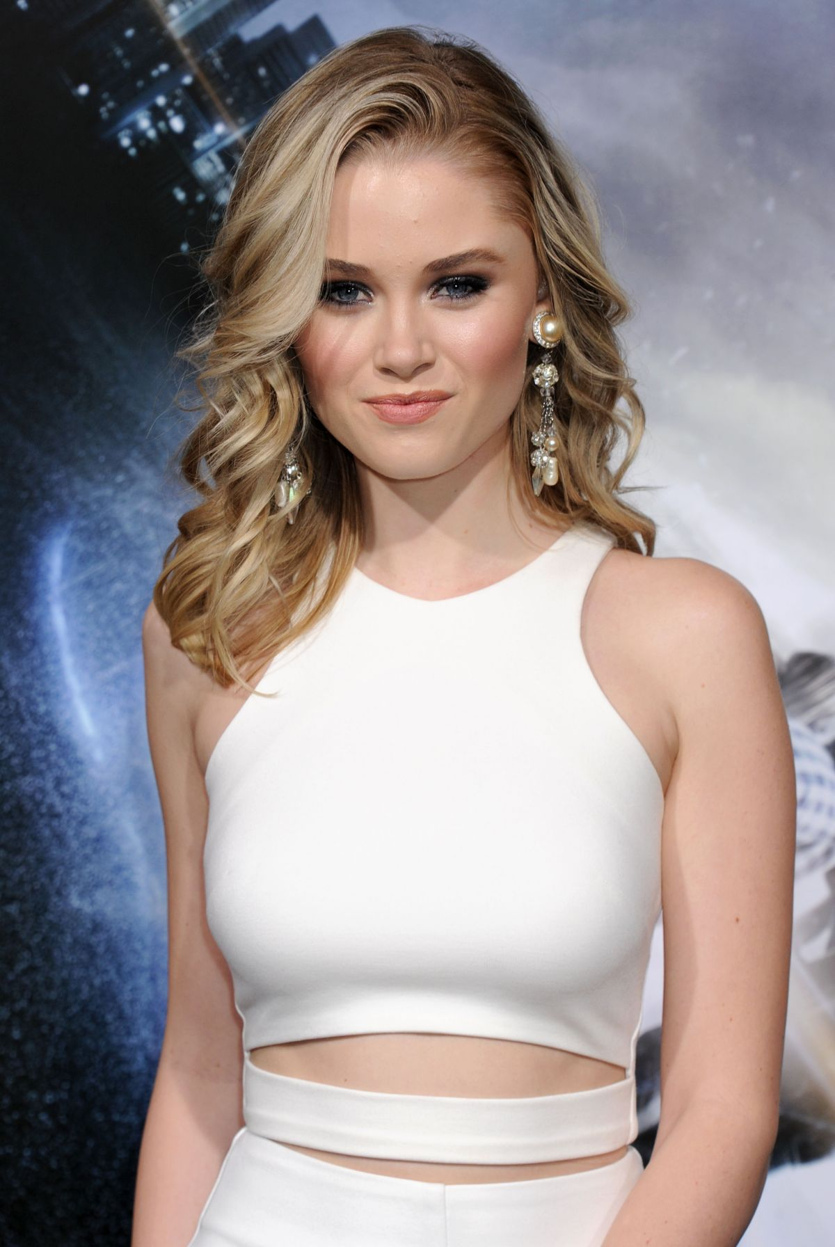 VIRGINIA GARDNER at Project Almanac Premiere in Hollywood