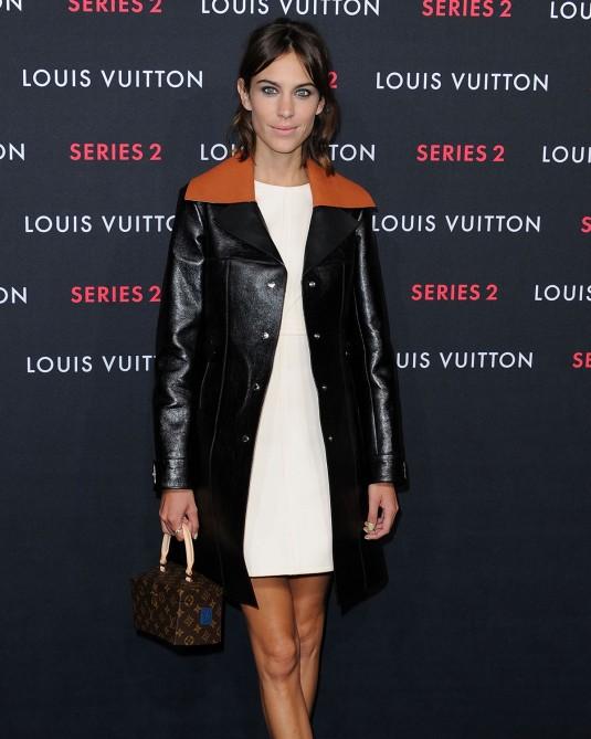 ALEXA CHUNG at Louis Vuitton Series 2 Exhibition