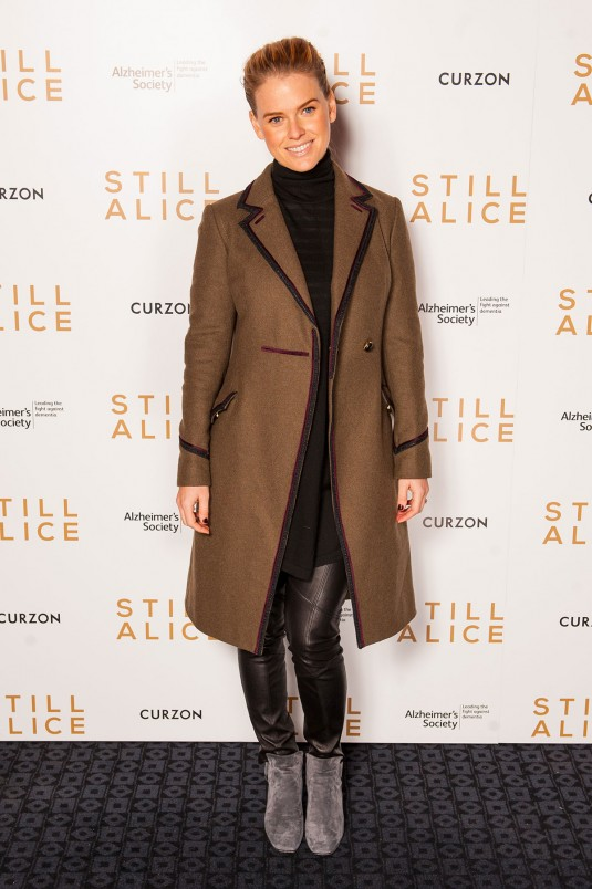 ALICE EVE at Still Alice VIP Screening