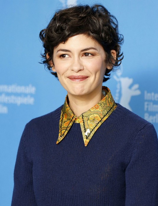 AUDREY TAUTOU at International Jury Press Conference at Berlinare International Film Festival