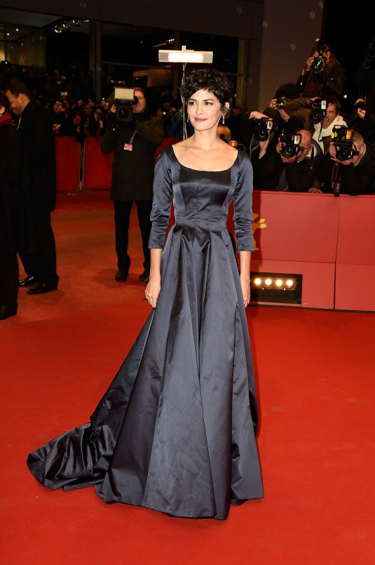 AUDREY TAUTOU at Nobody Wants the Night Premiere