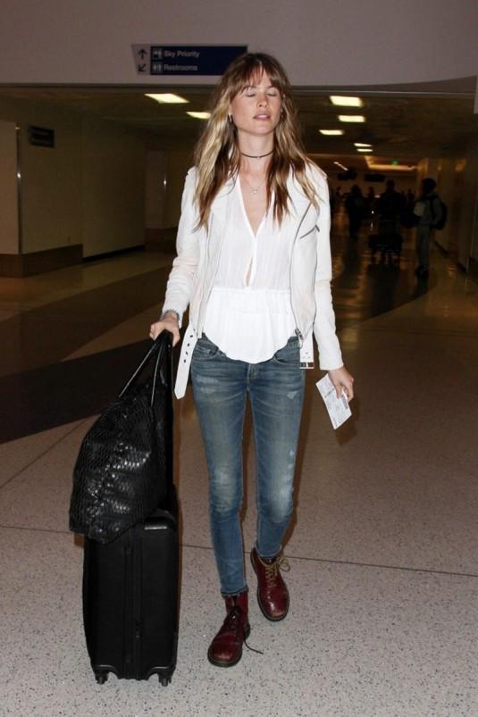 BEHATI PRINSLOO at Los Angeles International Airport