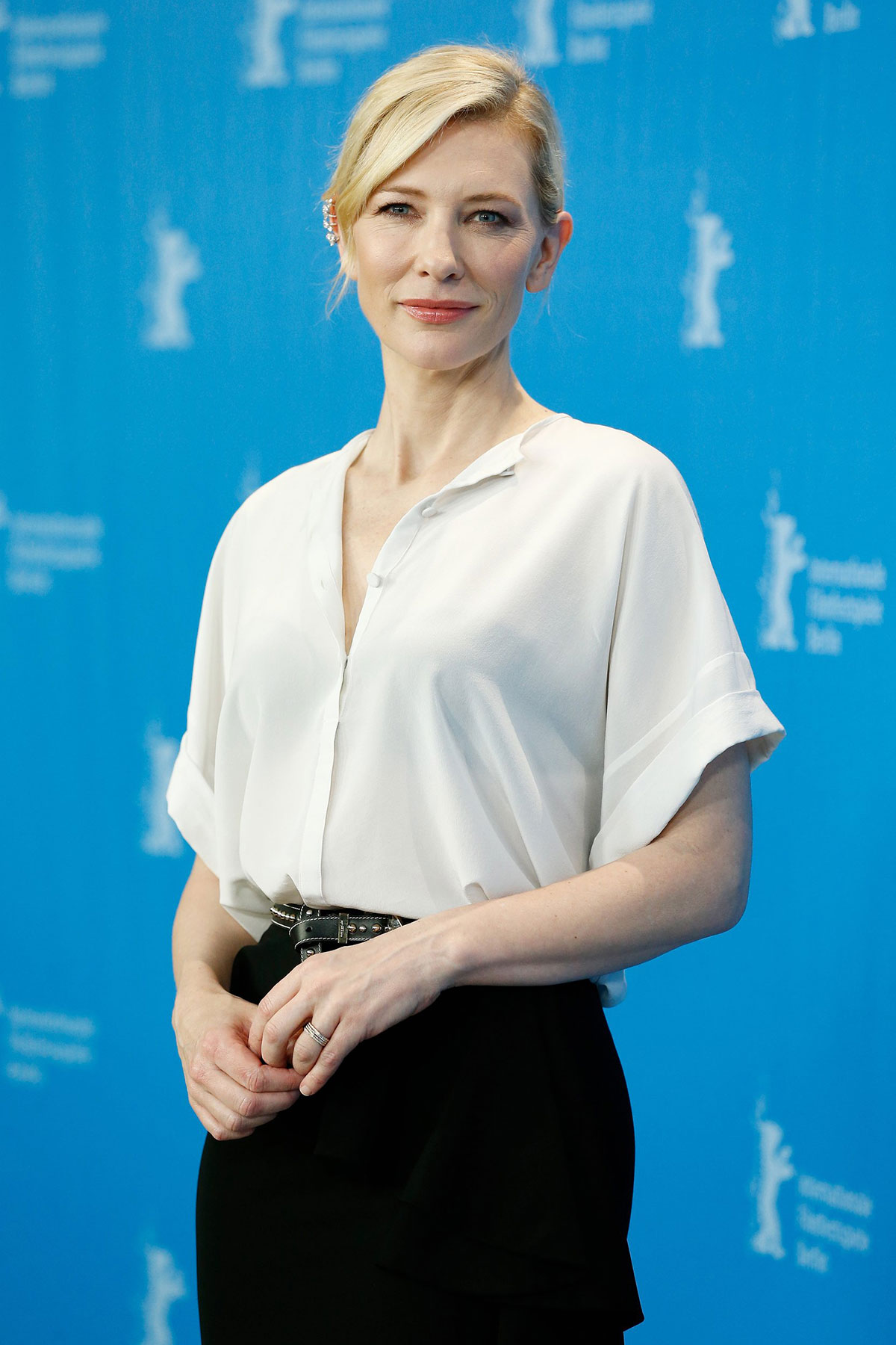 CATE BLANCHETT at Cinderella Photocall at Berlinale Film ... Cate Blanchett Movies