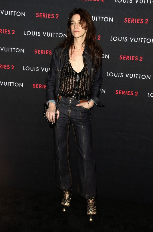 CHARLOTTE GAINSBOURG at Louis Vuitton Series 2 Exhibition