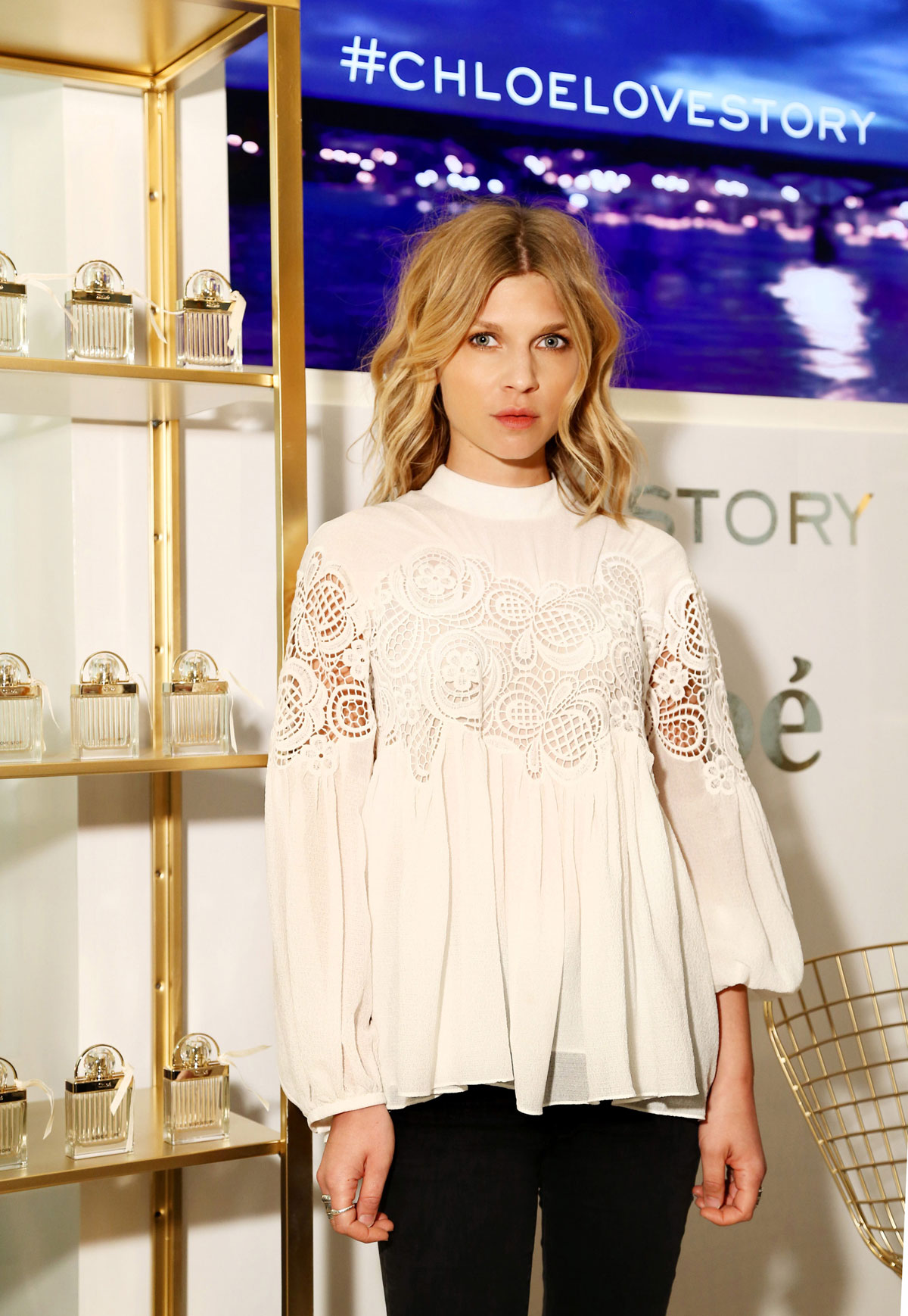 CLEMENCE POESY at Chlo...